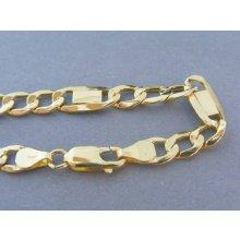 8790e7470 MARM Design Zlatá pánska retiazka vzor figaro žlté zlato VR551061Z