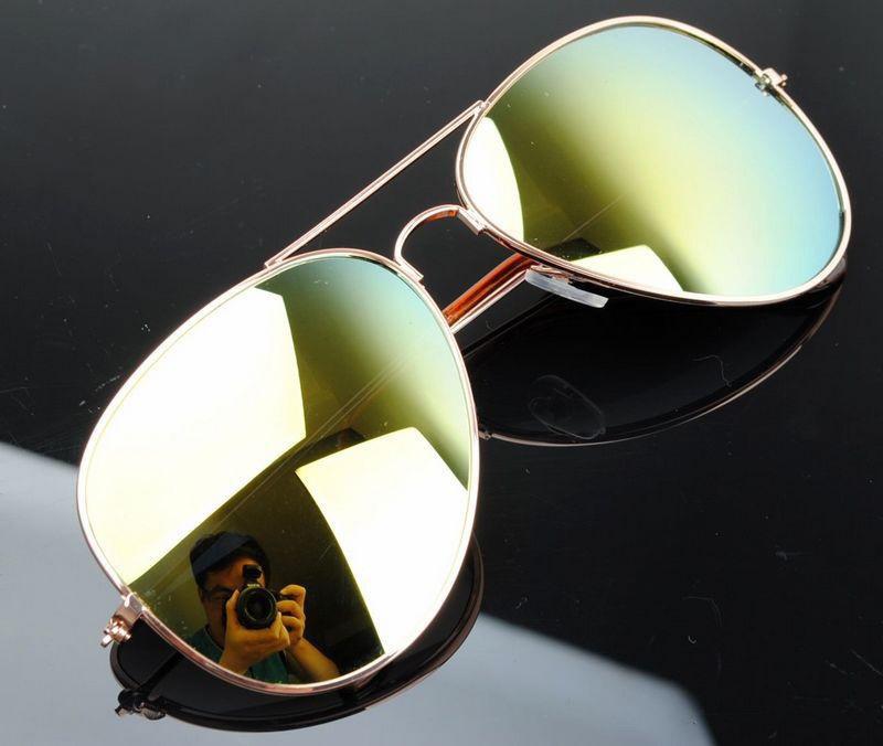 22154fad2 Slnečné okuliare Polarizované pilotky zlato zelené - Zoznamtovaru.sk