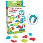 Smoby Magnetické písmenká pre deti abeceda čísla a znaky 72 kusov
