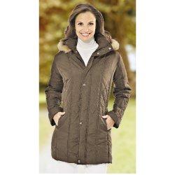 f234cf2ed Alaska Prešívaný kabát hnedá od 11,10 € - Heureka.sk