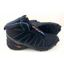 Pánska trailová obuv 3644M1 Čierna Čierna