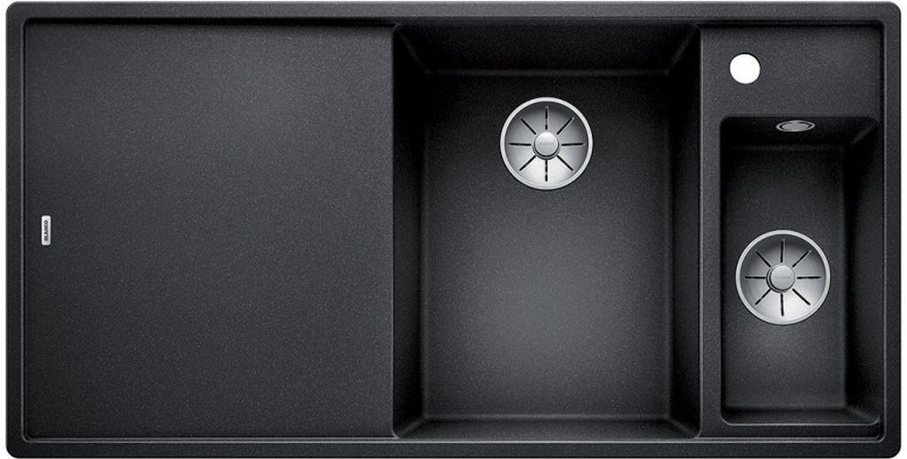 blanco axia iii 6s f silgranit antracit foto 1. Black Bedroom Furniture Sets. Home Design Ideas
