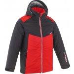688645d7f1456 WED`ZE Detská lyžiarska bunda 500 na zjazdové lyžovanie červená
