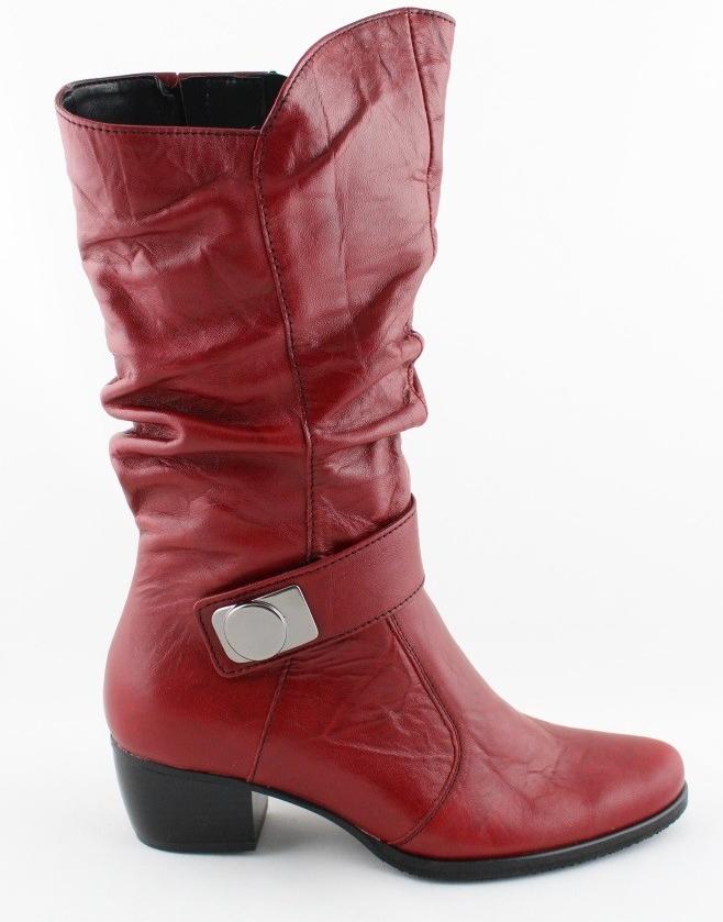 56593f5cad Barton dámske čižmy červené od 87