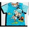 Disney tričko pre bábätká, krátky rukáv - Mickey, tyrkysové
