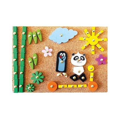 BINO Krtko a Panda, hra s kladivkom