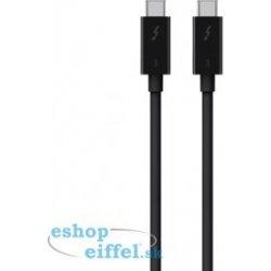 Belkin F2CD085bt2M-BLK USB-C TB3 to TB3, 2m