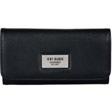 Guess Dámska peňaženka Ethel Slim Flap Wall et Black 790feef7350