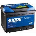 Exide Excell 12V 70Ah 540A, EB704