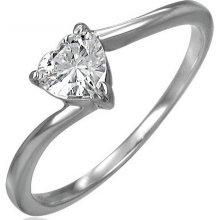 Ligot Romantický prsteň z chirurgickej ocele MZRC043 299309afc29