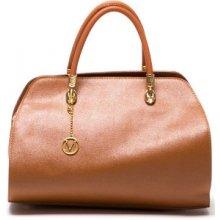 Mangotti kožená kabelka 415 Cognac