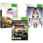 Forza Horizon 2 + World of Tanks + Fable Anniversary