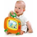 Smoby 313704 zeleno-oranžový detský farebný televízor Cotoons s hudbou pre kojencov