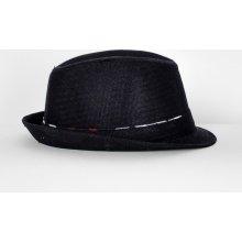 630c0f0cc Basic čierny Homburg klobúk Kapt