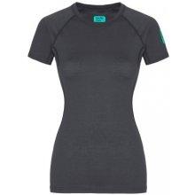 d450183c165 Zajo Elsa Merino W T-shirt SS gray dámské triko krátký rukáv Merino vlna