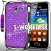 Zadný kryt Samsung Galaxy Ace 2 - Chrome Diamant tmavo-fialová
