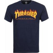 Thrasher Flame Logo navy blue