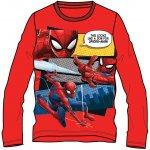 Disney by Arnetta Chlapčenské tričko Spiderman - červené