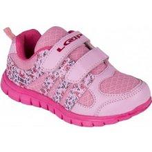 Detská vychádzková obuv FINN KID ružová