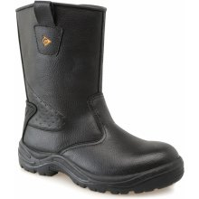 Dunlop Rigger Safety Boots Mens Dark Brown