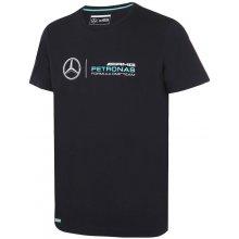 Mercedes AMG Petronas pánske tričko Logo black F1 2016