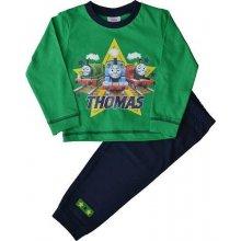 Chlapčenské bavlnené pyžamo VLÁČIK THOMAS Green THOMAS & FRIENDS THO1037