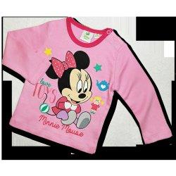 69bf153e1 Recenzie Disney Dievčenské tričko pre bábätká - love Minnie, bl ...