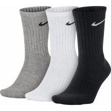5528ca01c75 Nike ponožky 3 páry bielo sivo čierne 3PPK VALUE COTTON CREW SX4508 965
