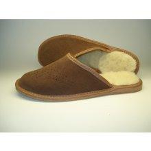 bea8944962488 Pánske papuče-vlnené futro model 1