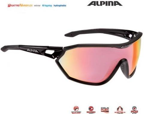 3c46a1eb9 Cyklistické okuliare Alpina - Heureka.sk