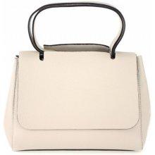 Made In Italy kožená kabelka 670 béžová b530324d405