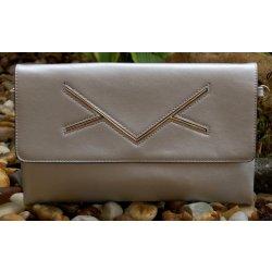 9c2911e9f3ae kabelka listová preklápačka ozdoba strieborná zlatá alternatívy ...