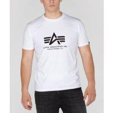 Alpha Industries Basic Body T White tričko pánske