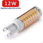 LEDIN LED žiarovka 12W 230V Teplá biela G9