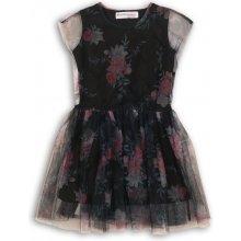 cbaeeebf2af6 Minoti PETAL 1 šaty dievčenské čierna