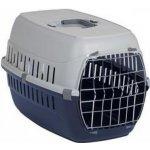 Papillon Pet Products Prepravka plastová tm.modrá - sivá 49x32x30cm (pre mačky)