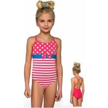 8eafd8759 Jednodielne dievčenské plavky Lorin DB3 ružová
