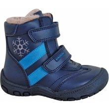Protetika Chlapčenské zimné topánky BERGER modré