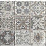 Premium Mosaic Dekor Skleněné obklady mix farieb 10x10 cm, lesk PATCHWORK200