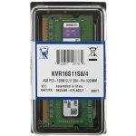 Kingston SODIMM DDR3 4GB 1600MHz CL11 KVR16S11S8/4