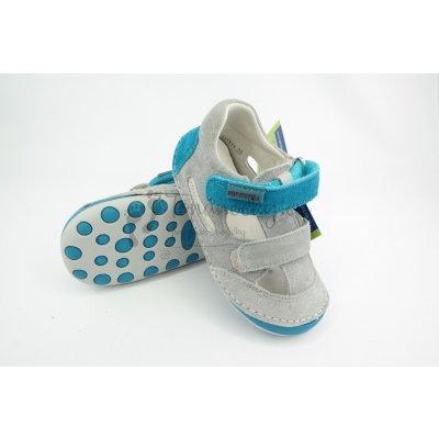 Protetika Detské letné barefoot topánky Flip Tyrkys