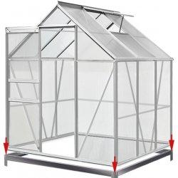 Deuba Záhradný skleník Aluminium - 190 x 195 x 195 cm