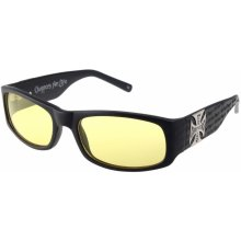 West Coast Choppers - WCC GANGSCRIPT - MATTE BLACK YELLOW - WCCZBOO9GL