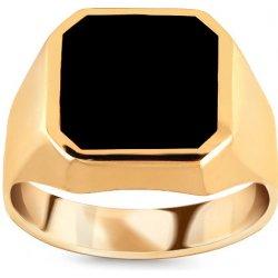 iZlato Design Zlatý pánsky prsteň s ónyxom IZ15774 alternatívy ... eb5c0caac51