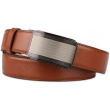 Penny Belts Pánsky kožený opasok 35/020/A11-48 hnědý