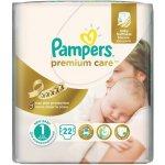 Pampers PremiumCare 1 Newborn - 22 ks
