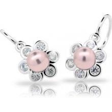 Cutie Jewellery náušnice C2489 Rosaline striebro