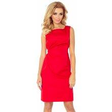 e84fc774d876 Červené šaty MEMORY s viazaním 126-5