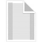 Podložka A4 do zošita papierová linajková štvorčeková