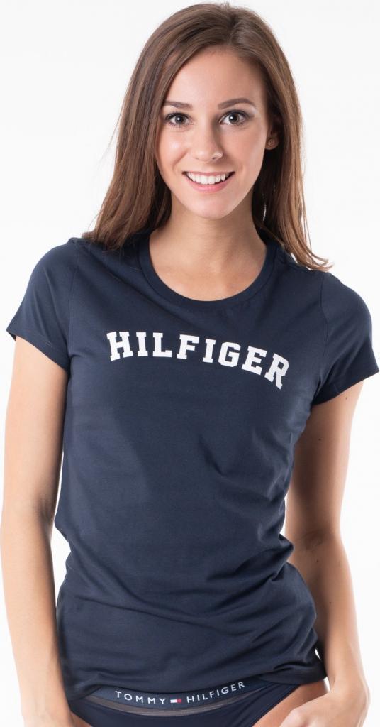 89a471de272 Tommy Hilfiger Dámske tričko s krátkym rukávom Cotton Iconic Logo SS Tee  Print UW0UW00091-416